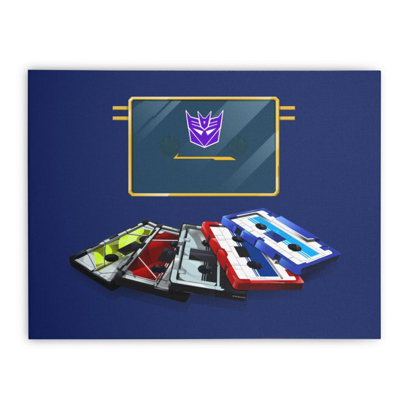 Soundwave Home Stretched Canvas by FunctionalFantasy Artist Shop