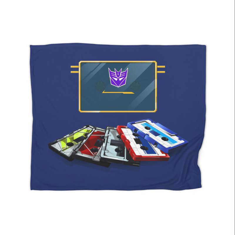 Soundwave Home Fleece Blanket Blanket by FunctionalFantasy Artist Shop