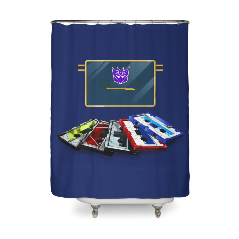 Soundwave Home Shower Curtain by FunctionalFantasy Artist Shop