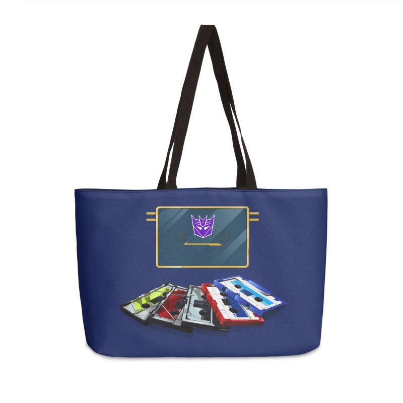 Soundwave Accessories Weekender Bag Bag by FunctionalFantasy Artist Shop