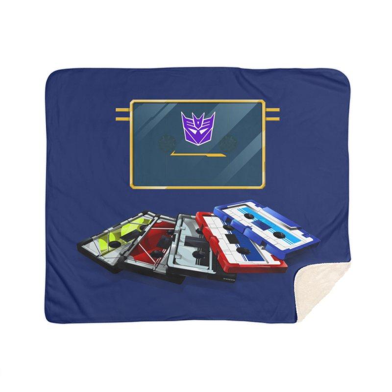 Soundwave Home Sherpa Blanket Blanket by FunctionalFantasy Artist Shop