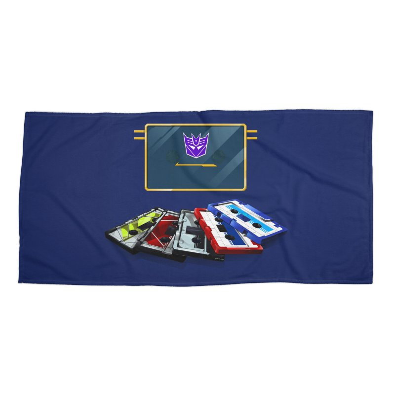 Soundwave Accessories Beach Towel by FunctionalFantasy Artist Shop