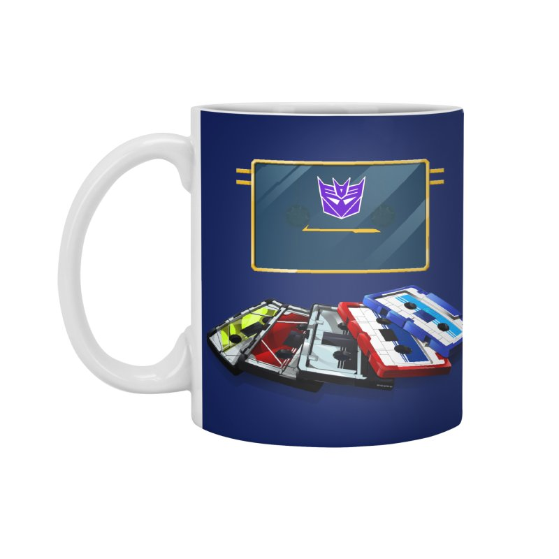 Soundwave Accessories Mug by FunctionalFantasy Artist Shop