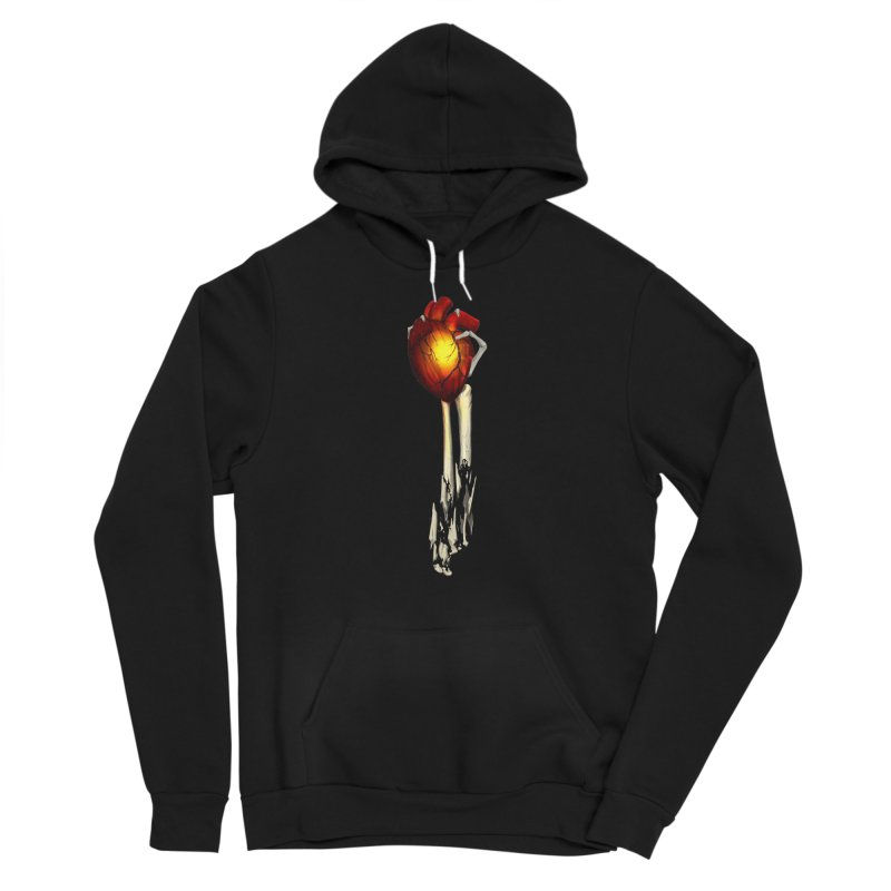Heart in Hand Women's Pullover Hoody by FunctionalFantasy Artist Shop