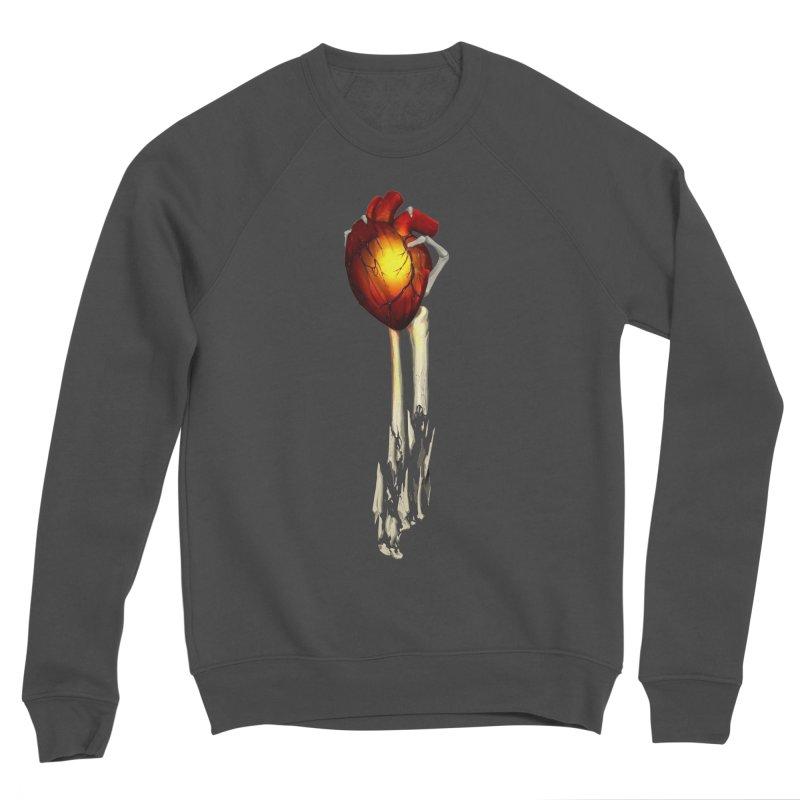 Heart in Hand Women's Sponge Fleece Sweatshirt by FunctionalFantasy Artist Shop
