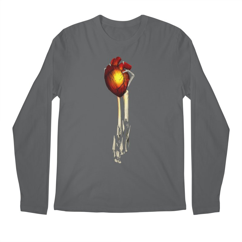 Heart in Hand Men's Longsleeve T-Shirt by FunctionalFantasy Artist Shop