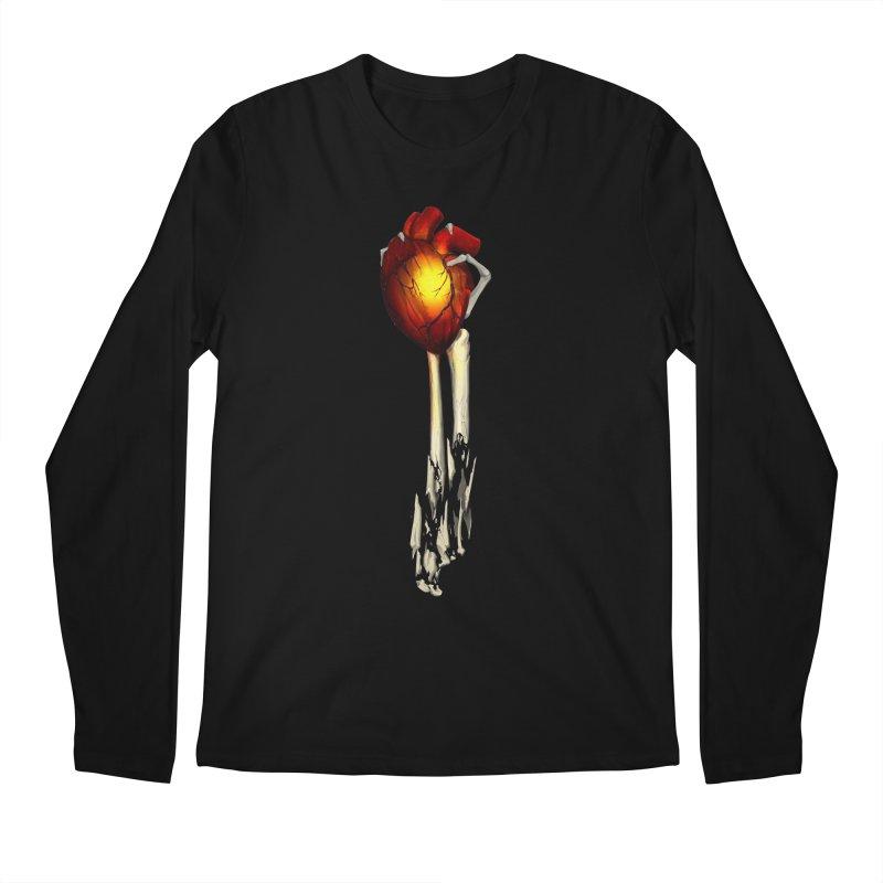 Heart in Hand Men's Regular Longsleeve T-Shirt by FunctionalFantasy Artist Shop
