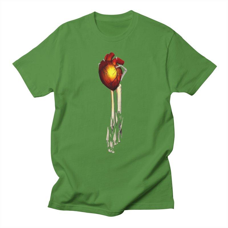 Heart in Hand Men's Regular T-Shirt by FunctionalFantasy Artist Shop