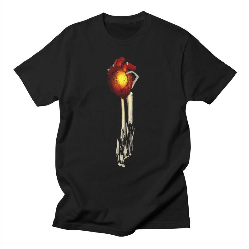 Heart in Hand Women's Regular Unisex T-Shirt by FunctionalFantasy Artist Shop