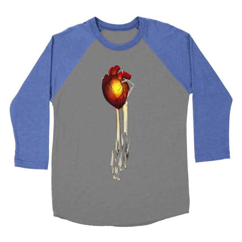 Heart in Hand Men's Baseball Triblend Longsleeve T-Shirt by FunctionalFantasy Artist Shop