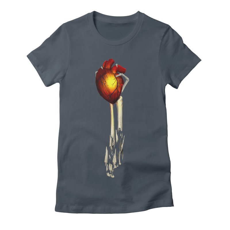 Heart in Hand Women's T-Shirt by FunctionalFantasy Artist Shop