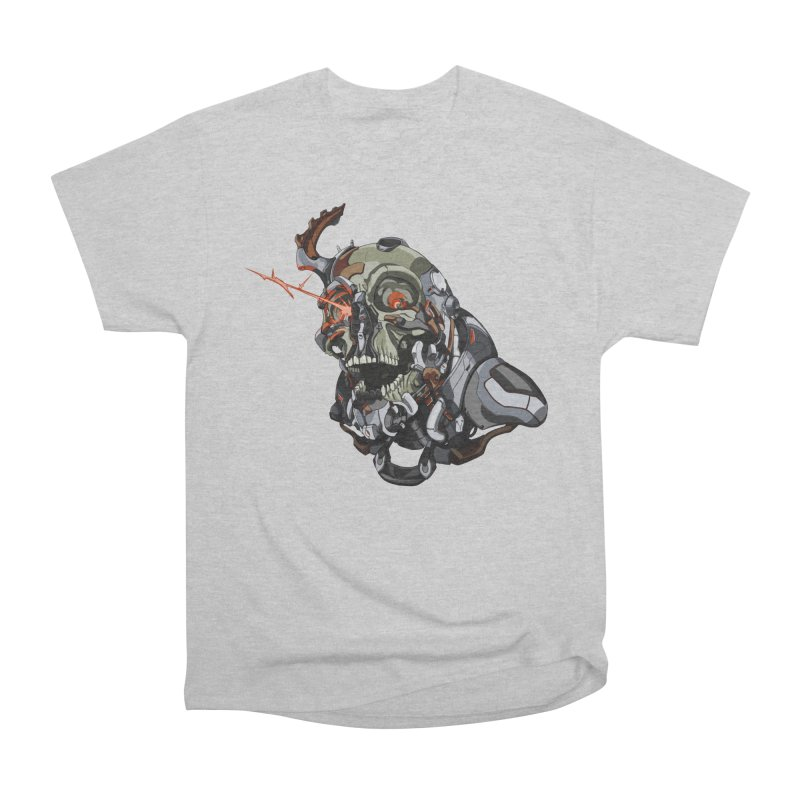 CyberSkull Men's T-Shirt by FunctionalFantasy Artist Shop