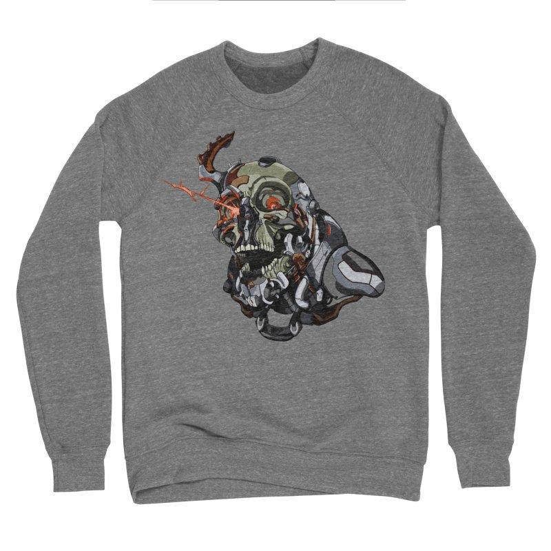 CyberSkull Women's Sponge Fleece Sweatshirt by FunctionalFantasy Artist Shop
