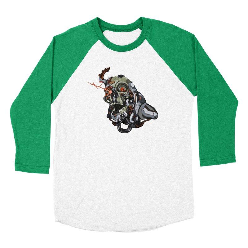 CyberSkull Women's Longsleeve T-Shirt by FunctionalFantasy Artist Shop
