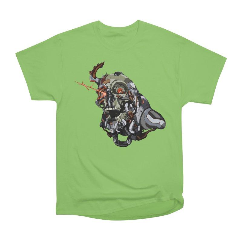 CyberSkull Men's Heavyweight T-Shirt by FunctionalFantasy Artist Shop