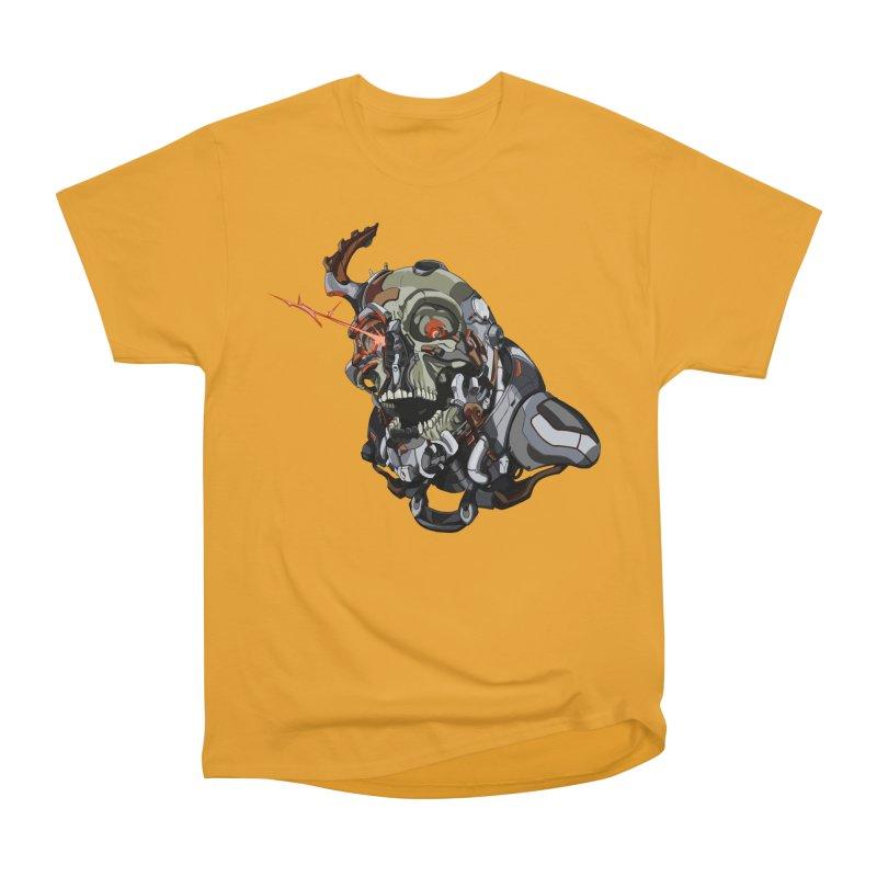 CyberSkull Women's Heavyweight Unisex T-Shirt by FunctionalFantasy Artist Shop