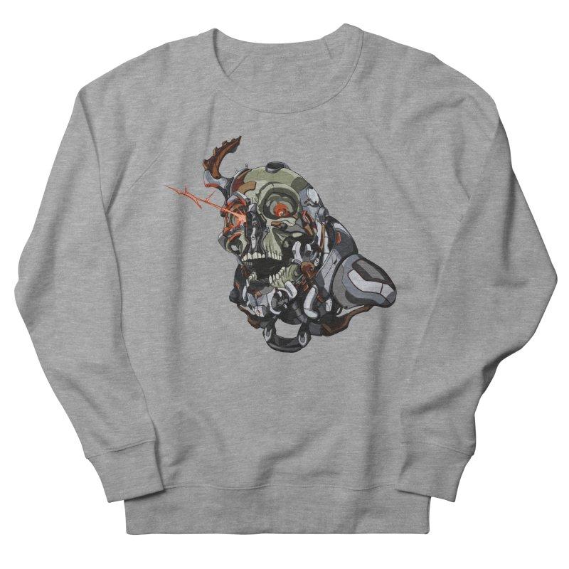 CyberSkull Women's French Terry Sweatshirt by FunctionalFantasy Artist Shop