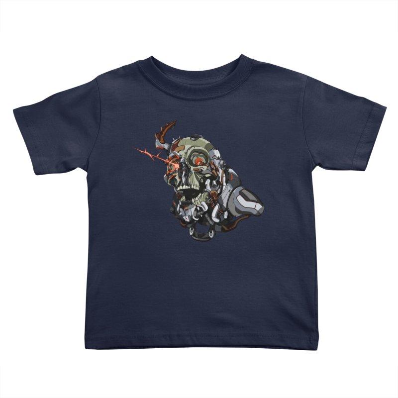 CyberSkull Kids Toddler T-Shirt by FunctionalFantasy Artist Shop