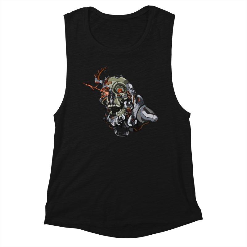 CyberSkull Women's Tank by FunctionalFantasy Artist Shop