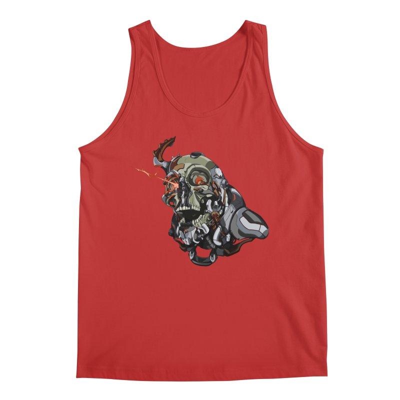 CyberSkull Men's Regular Tank by FunctionalFantasy Artist Shop