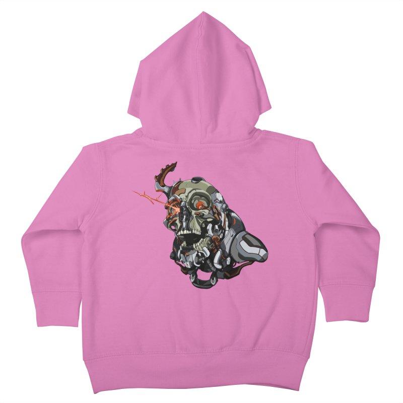 CyberSkull Kids Toddler Zip-Up Hoody by FunctionalFantasy Artist Shop