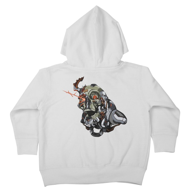 CyberSkull Kids Toddler Zip-Up Hoody by FunctionalFantasy Artist Shop