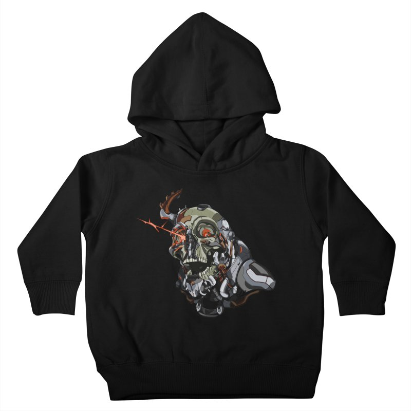 CyberSkull Kids Toddler Pullover Hoody by FunctionalFantasy Artist Shop