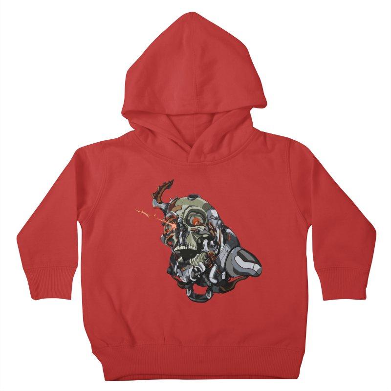 CyberSkull Kids Toddler Pullover Hoody by FunctionalFantasy Artist Shop