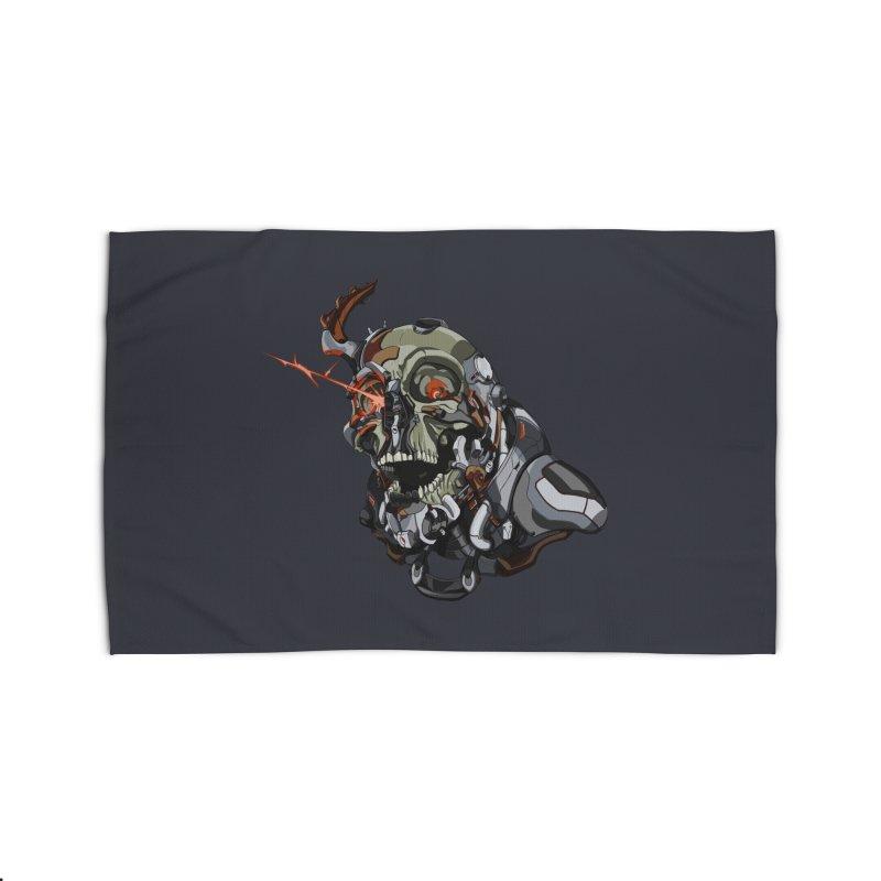 CyberSkull Home Rug by FunctionalFantasy Artist Shop