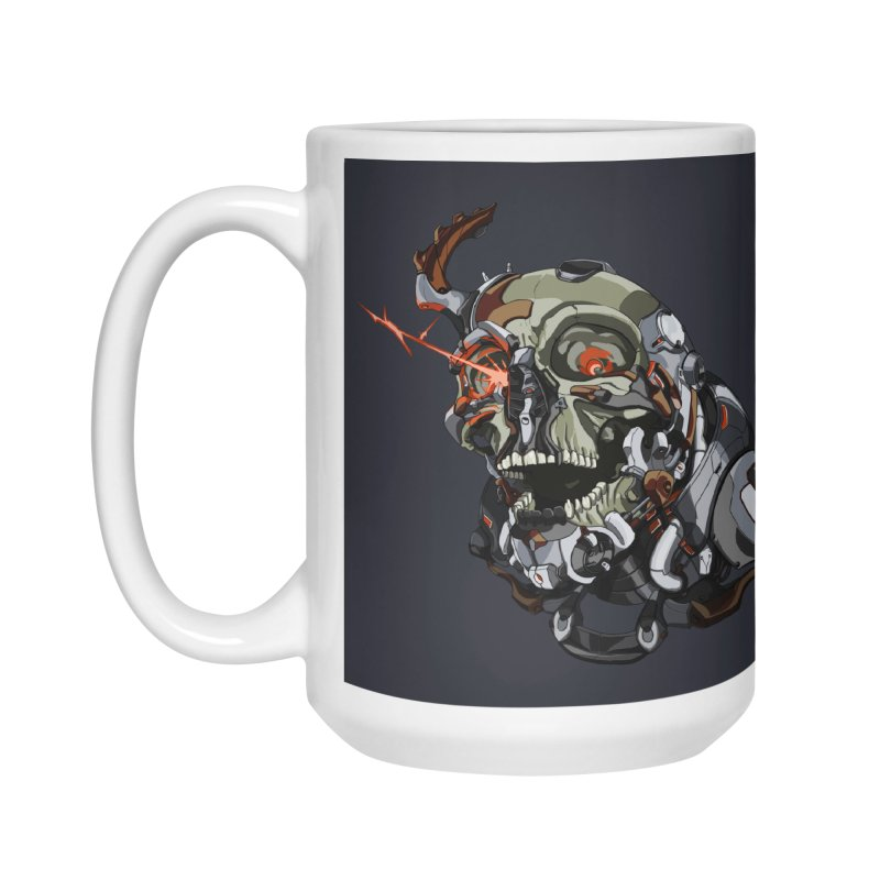 CyberSkull Accessories Mug by FunctionalFantasy Artist Shop