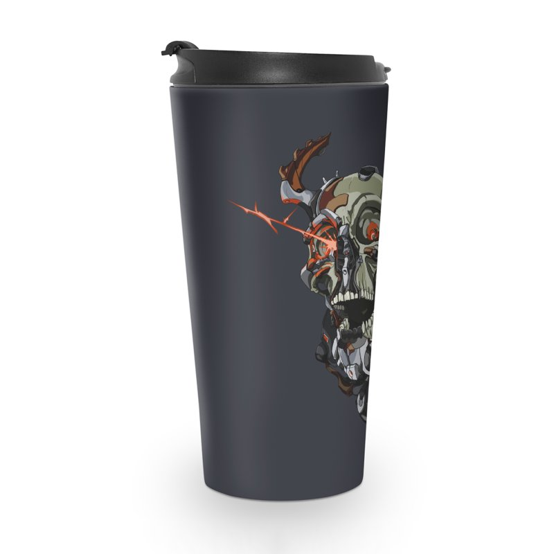 CyberSkull Accessories Travel Mug by FunctionalFantasy Artist Shop