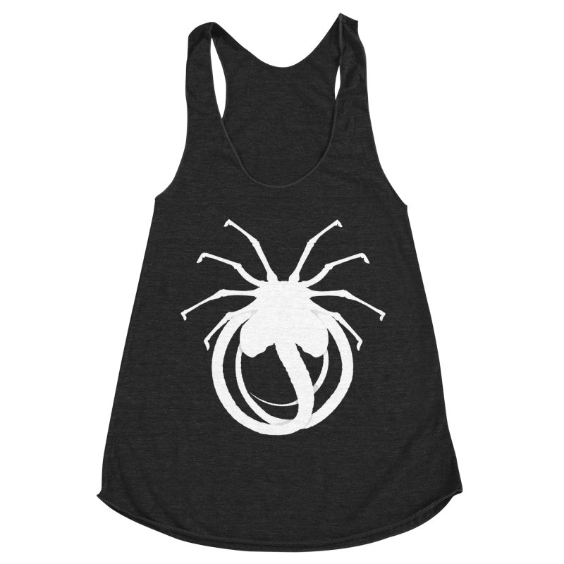 Parasyte Women's Racerback Triblend Tank by FunctionalFantasy Artist Shop