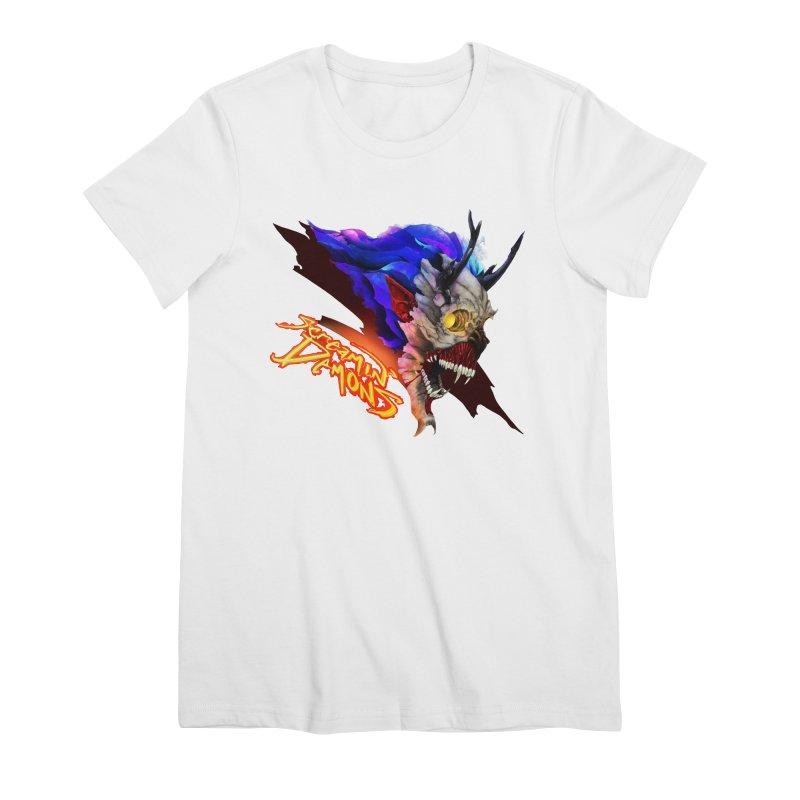 Screamin' Demons Women's Premium T-Shirt by FunctionalFantasy Artist Shop
