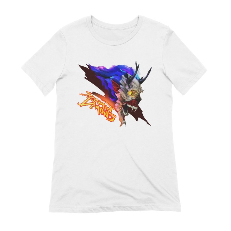 Screamin' Demons Women's Extra Soft T-Shirt by FunctionalFantasy Artist Shop