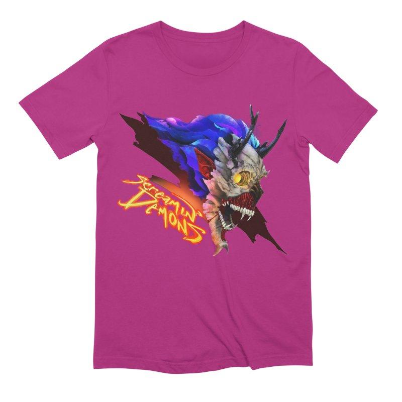Screamin' Demons Men's Extra Soft T-Shirt by FunctionalFantasy Artist Shop