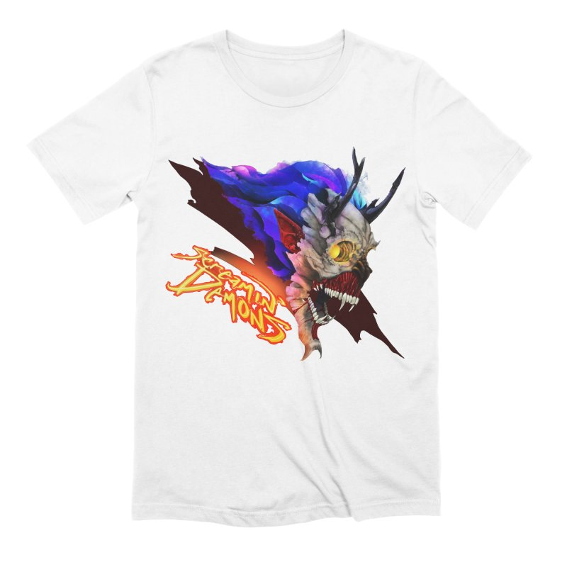 Screamin' Demons Men's Extra Soft T-Shirt by FunctionalFantasy Artist Shop