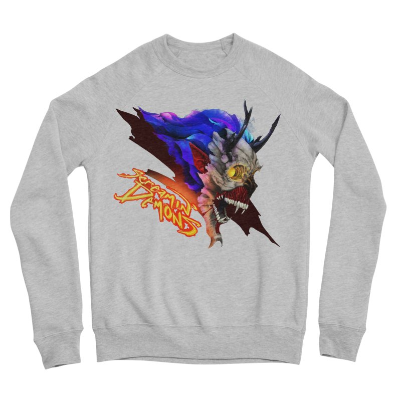 Screamin' Demons Women's Sponge Fleece Sweatshirt by FunctionalFantasy Artist Shop