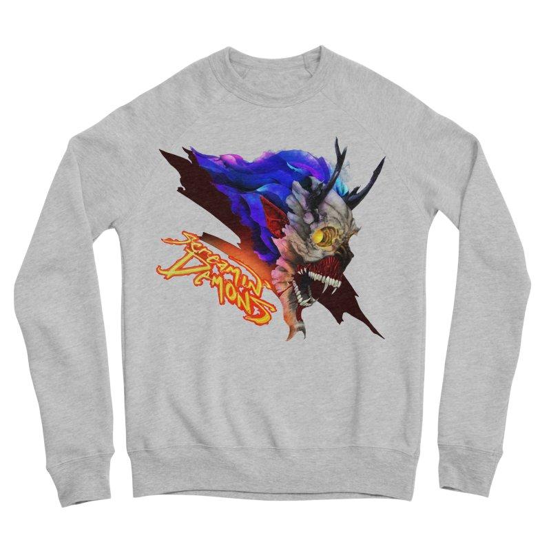 Screamin' Demons Men's Sponge Fleece Sweatshirt by FunctionalFantasy Artist Shop