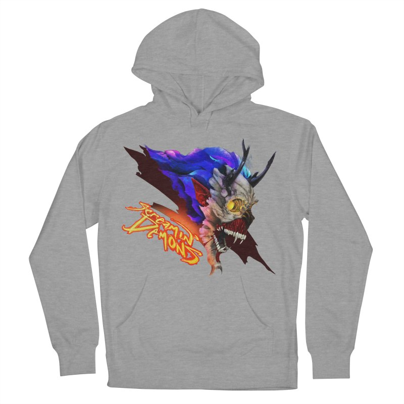 Screamin' Demons Women's French Terry Pullover Hoody by FunctionalFantasy Artist Shop