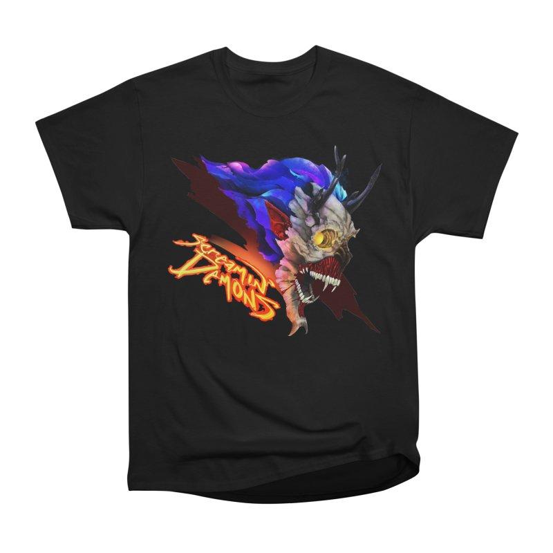 Screamin' Demons Men's Heavyweight T-Shirt by FunctionalFantasy Artist Shop