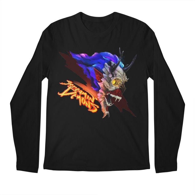Screamin' Demons Men's Regular Longsleeve T-Shirt by FunctionalFantasy Artist Shop