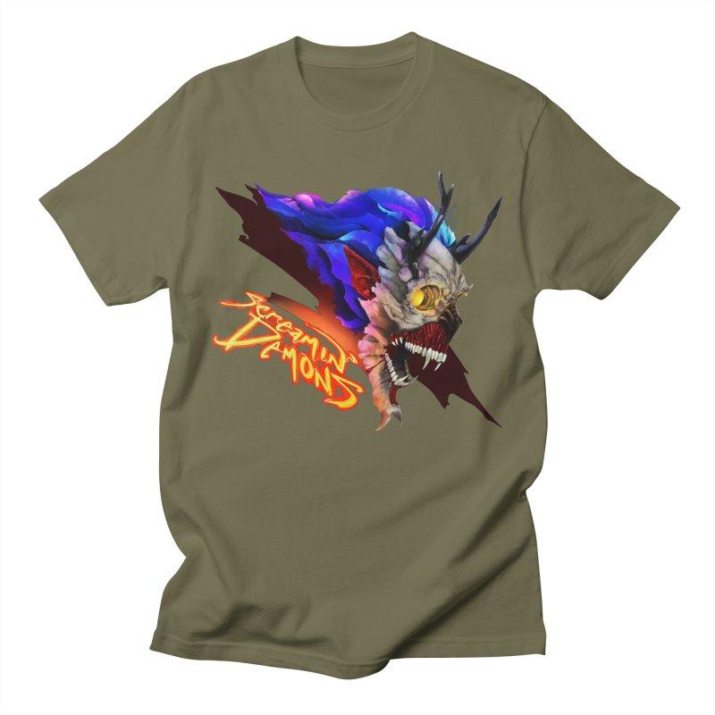 Screamin' Demons Women's Regular Unisex T-Shirt by FunctionalFantasy Artist Shop