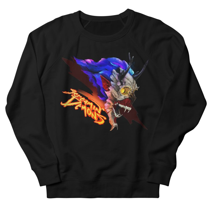 Screamin' Demons Women's French Terry Sweatshirt by FunctionalFantasy Artist Shop