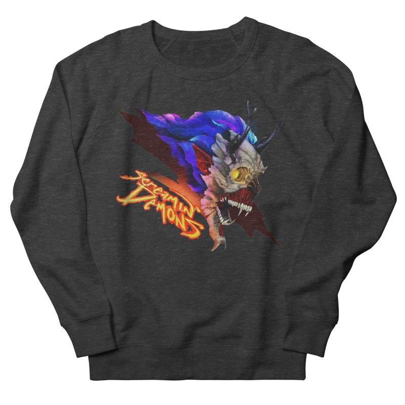 Screamin' Demons Men's French Terry Sweatshirt by FunctionalFantasy Artist Shop