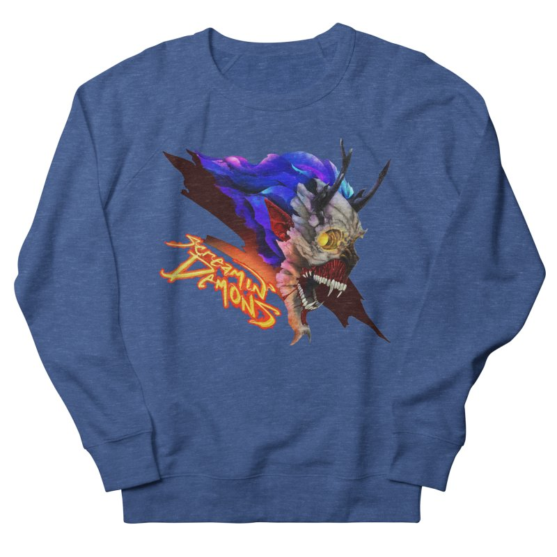 Screamin' Demons Men's French Terry Sweatshirt by FunctionalFantasy Artist Shop