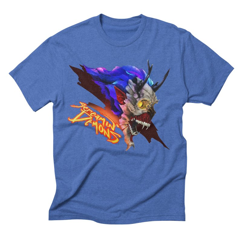 Screamin' Demons Men's Triblend T-Shirt by FunctionalFantasy Artist Shop