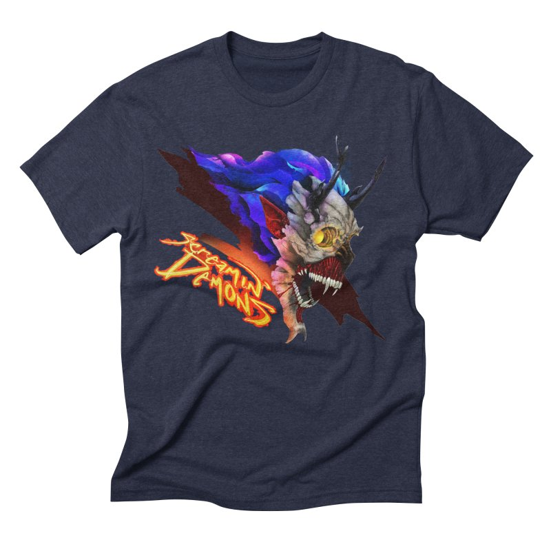 Screamin' Demons Men's Triblend T-Shirt by FunctionalFantasy Artist Shop