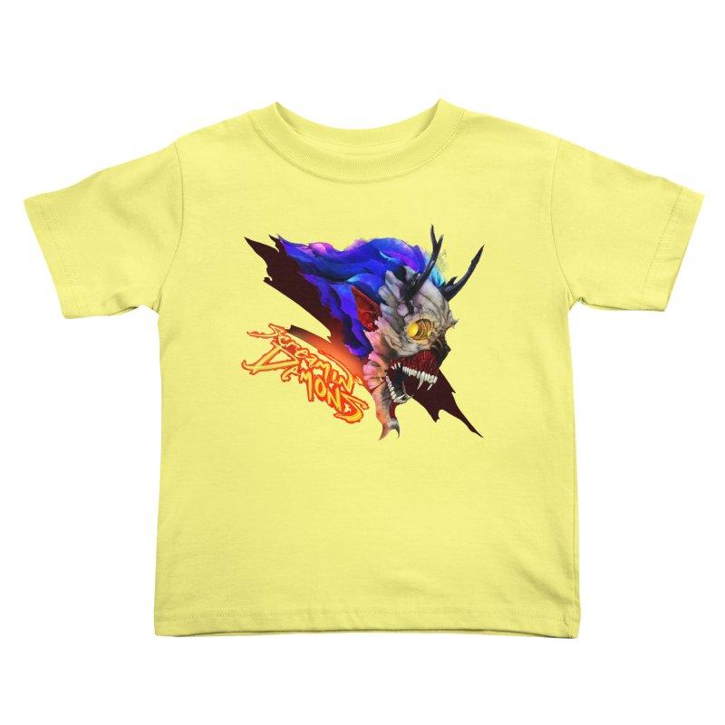 Screamin' Demons Kids Toddler T-Shirt by FunctionalFantasy Artist Shop
