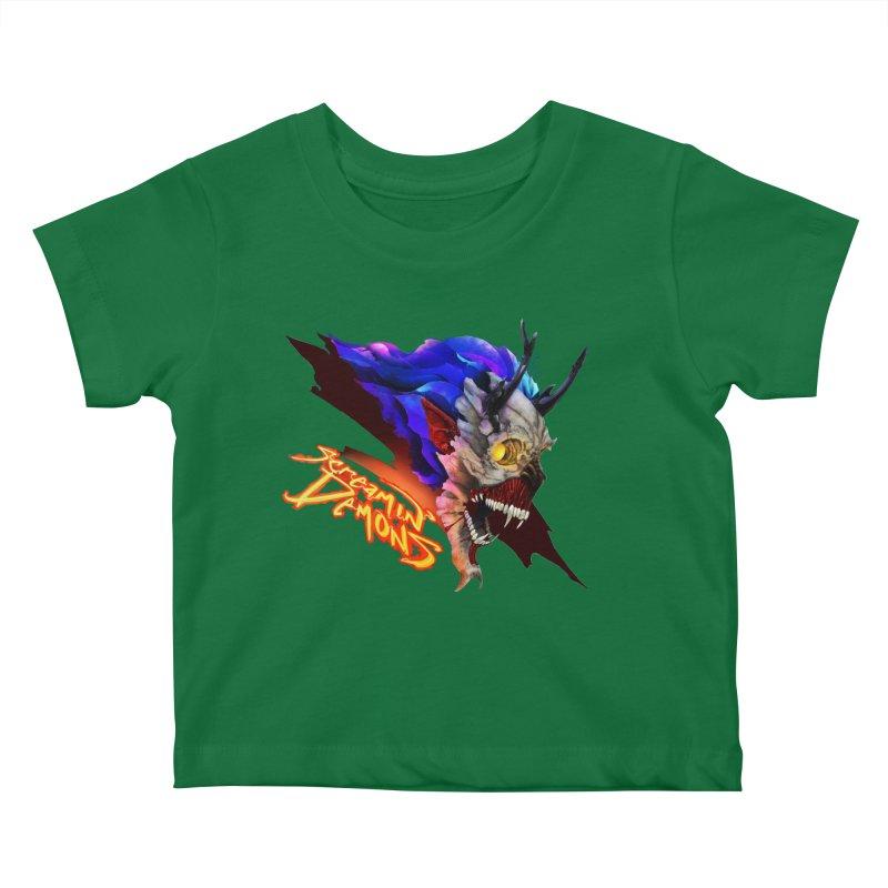 Screamin' Demons Kids Baby T-Shirt by FunctionalFantasy Artist Shop