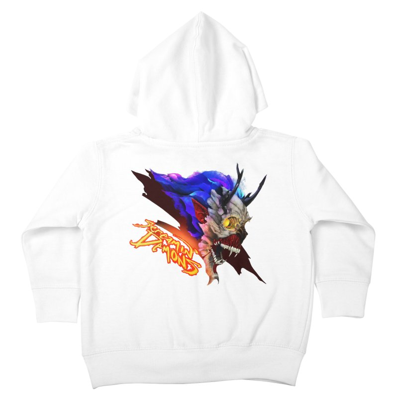 Screamin' Demons Kids Toddler Zip-Up Hoody by FunctionalFantasy Artist Shop